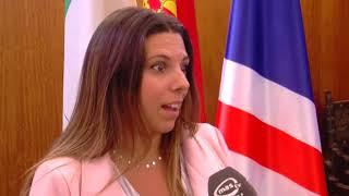 EL AYTO DE RIOTINTO, REALIZA TRABAJOS DE REPARACION DEL PARQUE INFANTIL
