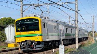 【まもなく運用開始】新型事業車E493系、常磐線試運転!![スーパークモヤ]