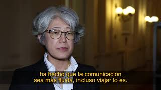 Midori Takeuchi evalúa la relación diplomática entre Chile y Japón