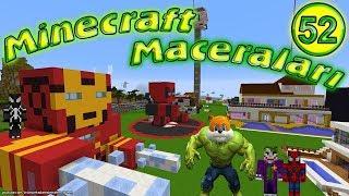 Sincap Minecraft'ta Hulk Oldu Örümcek Adam Haklıymış Minecraft Maceraları 52. Bölüm