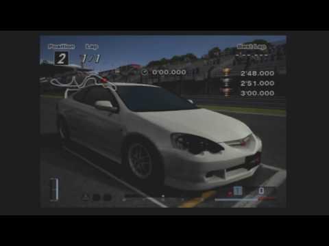 Gran Turismo 4 - B & A License 1-Lap Guide Runs