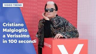 Cristiano Malgioglio: l'intervista a Verissimo in 100 secondi