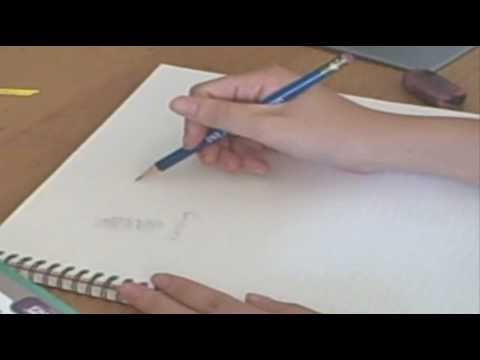 Easy drawing techniques the basics sketching shading