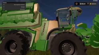 """Heute stelle ich euch Das """"Big M"""" von KRONE V 1.2 Mod für Landwirtschafts Simulator 17 vor."""