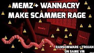 Wannacry + Memz make scammer rage thumbnail