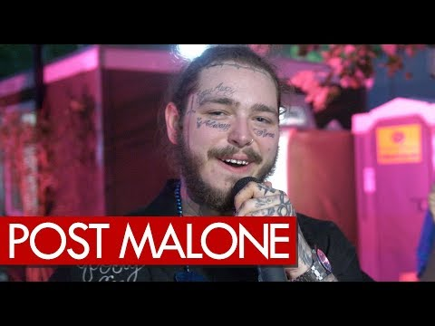 Post Malone Explains His