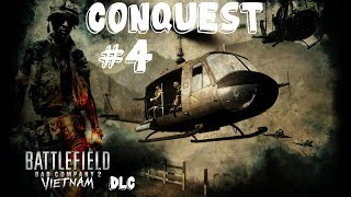 Battlefield Bad Company 2 - Vietnam DLC Multiplayer - Conquest #4 Gameplay PC/HD [1080p]