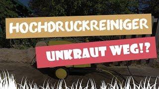 Mit Hochdruck Gegen Unkraut: Mit Dem Hochdruckreiniger Unkraut Entfernen   Garten-und-Freizeit.de