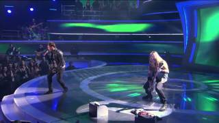 James Durbin with Zakk Wylde [HD] - American Idol - April 13, 2011