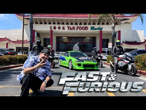 """WE TOUR FAST & FURIOUS LOCATIONS WITH """"HECTOR"""" *JOHNNY TRAN DESTROYS ECLIPSE*"""