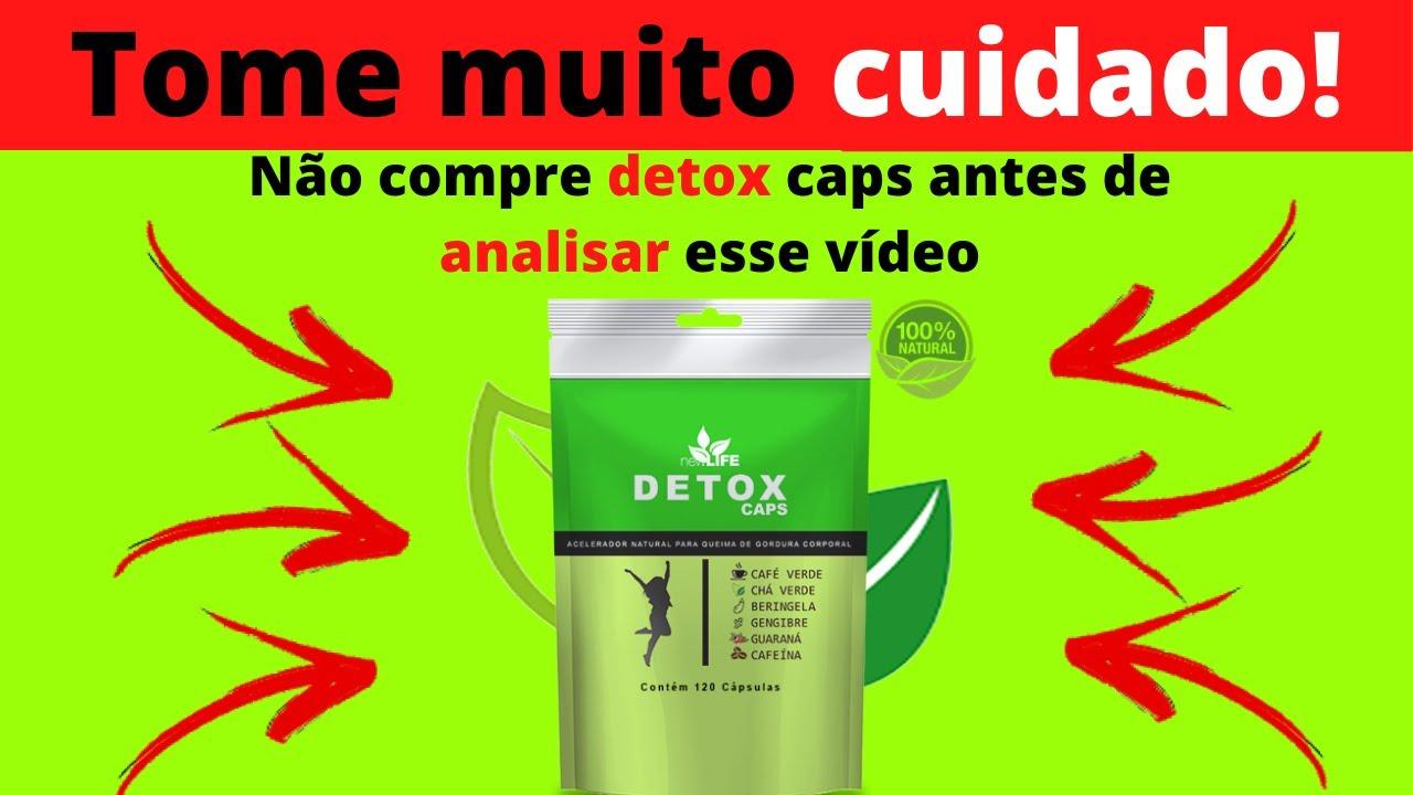 detox caps new life funciona
