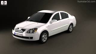 Chery A5 2010 by 3D model store Humster3D.com