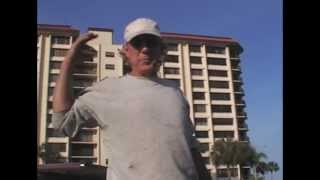 Clearwater Welding Mobile Service 727-482-9403 Billy Repairs Steel Stairs on top of Condo