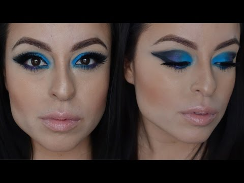 Trying My New Makeup Products/ Dramatic Eye Look Tutorial
