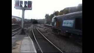 20303 + 20301 on South Yorkshire RHTT 25/10/2012