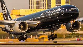 30 MINUTES of Great PLANE SPOTTING at LAX Los Angeles Airport [ LAX / KLAX ]
