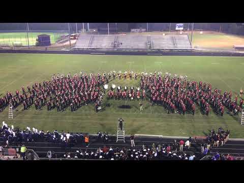 UGA Redcoats Marching Band Jam Session at Cedar Shoals Festival