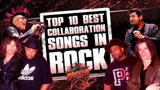 Gambar cover Top 10 BEST Collaboration Songs In Rock | Rocked