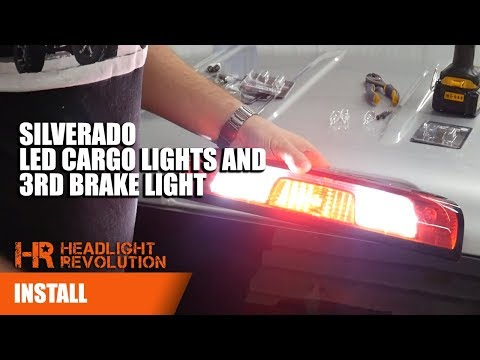 SUPER BRIGHT 2014-2018 Chevy Silverado LED 3rd Brake Light