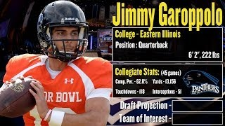 2014 NFL Draft Profile: Jimmy Garoppolo - Strengths and Weaknesses + Projection!