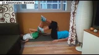 Actividad física con niños - #yomemuevoencasa Erika González Ojeda colegiada COLEFC nº 11624