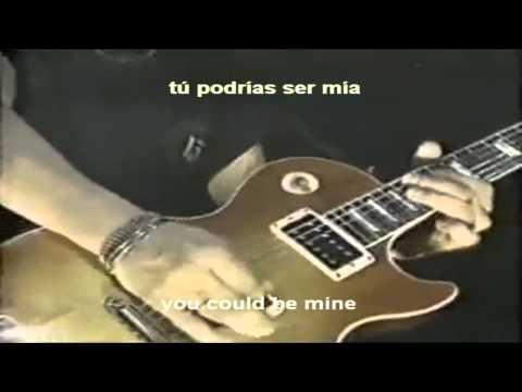 Guns N' Roses - You Could Be Mine [lyrics] (Subtitulado Al Español) [HD] Live Era