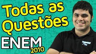 TODAS AS QUESTÕES DE MATEMÁTICA DO ENEM 2010 RESOLVIDAS | Matemática Rio