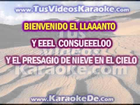Laura Pausini Bienvenido Karaoke - TusVideosKaraoke.com
