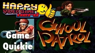 HVGN Game Quickie: Ghoul Patrol (SNES)