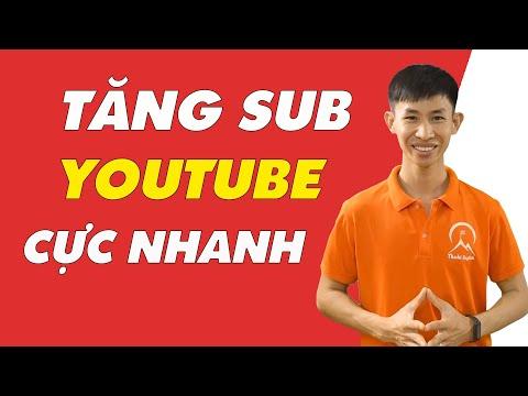 Cách tăng sub Youutbe nhanh nhất Miễn Phí - Thaki Group