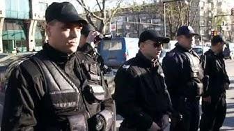 Потушаване протеста с тежката техника гр.Варна 17.04.2013г.