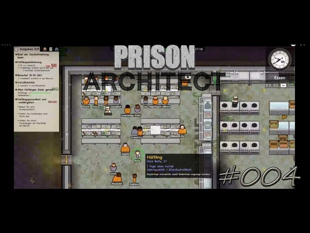 Let's Play Prison Architect | Schlägerei ? | Folge #004