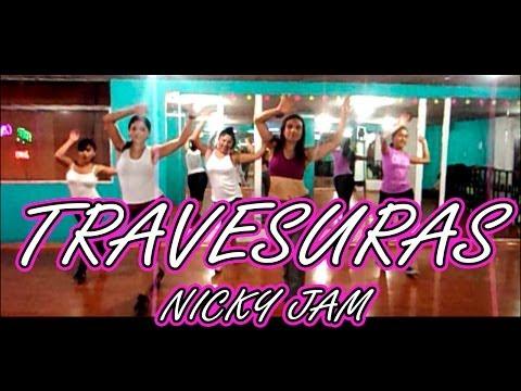 """""""Travesuras"""" Nicky Jam Coreografía Fitness"""