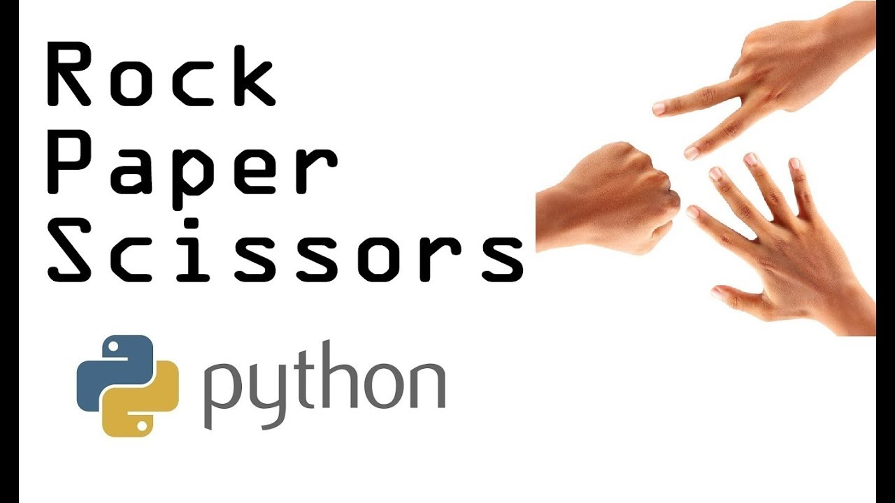 rock paper scissors game coded in python with while loop youtube. Black Bedroom Furniture Sets. Home Design Ideas
