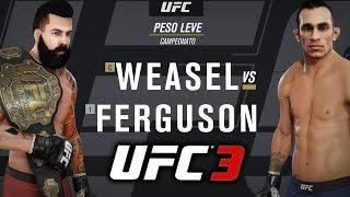 TONY FERGUSSON? NUNCA MAIS!! | EA Sports UFC 3 GOAT Carreira #19 Gameplay PS4 PT/BR