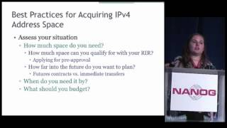 NANOG 68 How to Navigate Getting IPv4 Space in a Post Run Out World