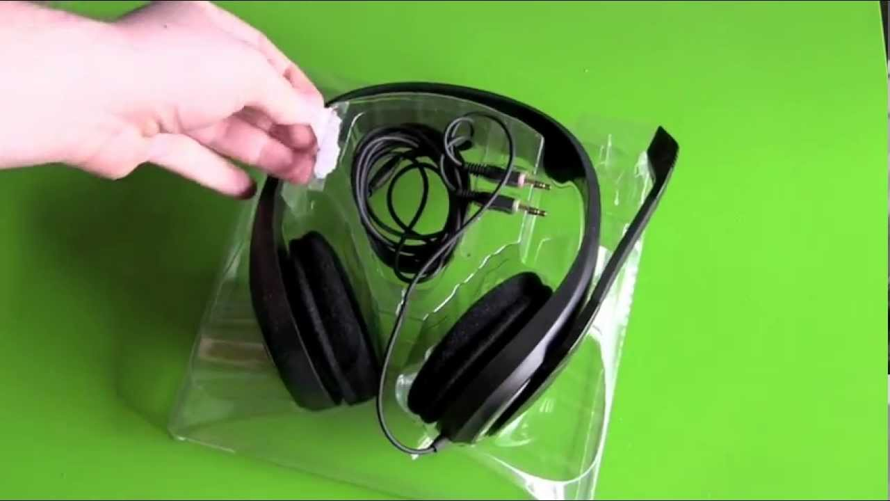 841c5799a47 Sennheiser PC 320 Gaming Headset unboxing - YouTube