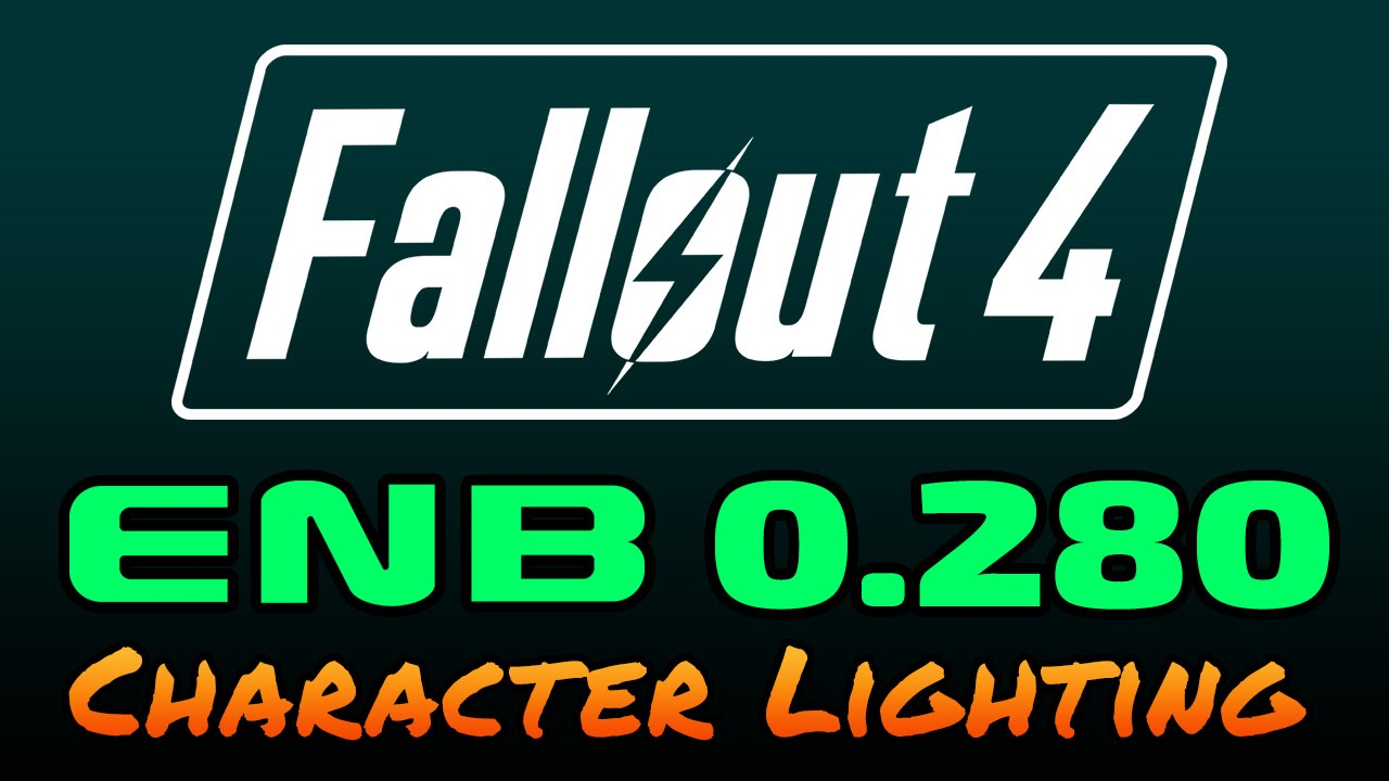 Fallout 4 - ENB 0 280 - Character Lighting Fix Demonstration