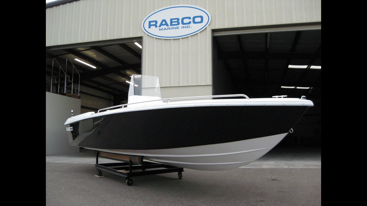 2013 Rabco 21 Center Console Build - YouTube