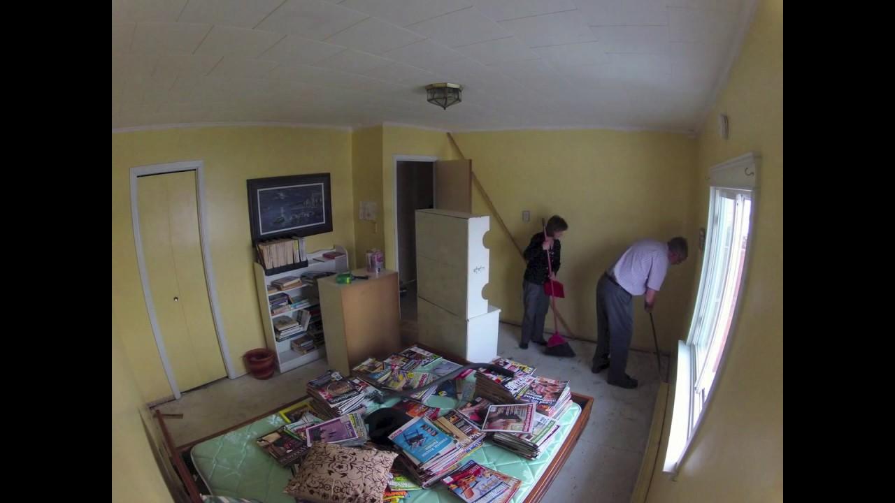Bedroom Remodel Time Lapse   DIY