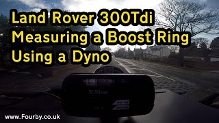 Fourby Boost Ring - Dyno results - 25% more power