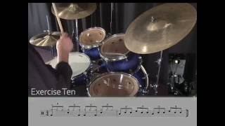 Learning Drums Lesson - 8th note triplet blues grooves
