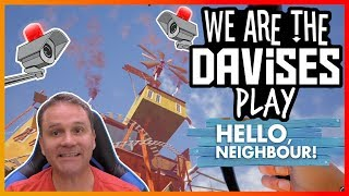 I Killed The Fan | Hello Neighbor Alpha 4 EP-5 | We Are The Davises Gaming