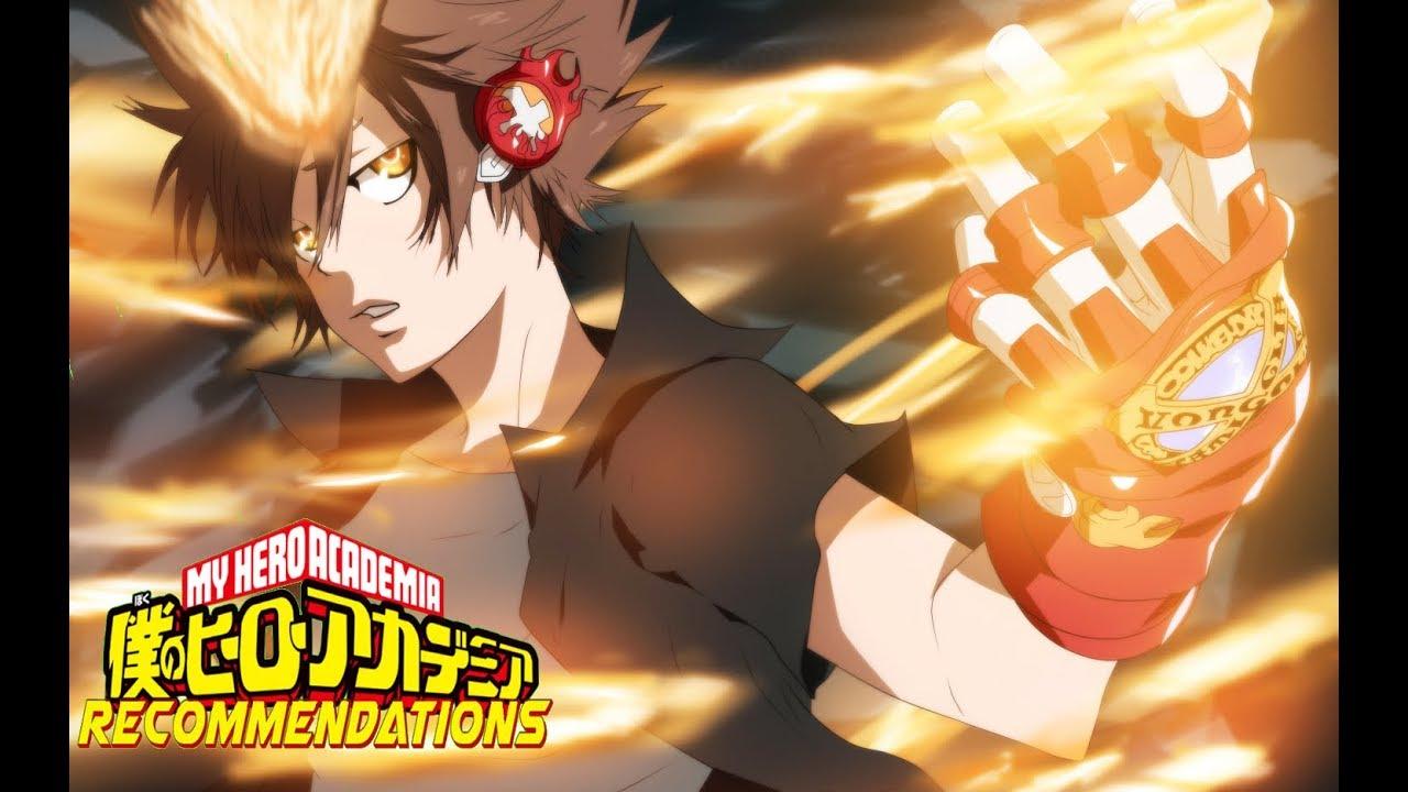 top 5 anime like my hero academia  component analysis