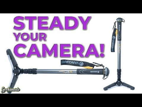 VEO 2 AM-264TR Gray Vanguard VEO 2 Aluminum Monopod with Tri-Stand