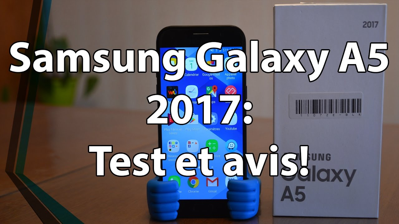 samsung galaxy a5 2017 test et avis youtube. Black Bedroom Furniture Sets. Home Design Ideas