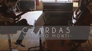 Czardas by Vittorio Monti for double bass and guitar