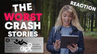 Reacting To The WORST Bike Crash Stories | The Hub Show Ep. 32 |
