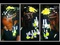Little Girls Braids & Twists   Trying the Black Castor Oil & Flax Seed Gel