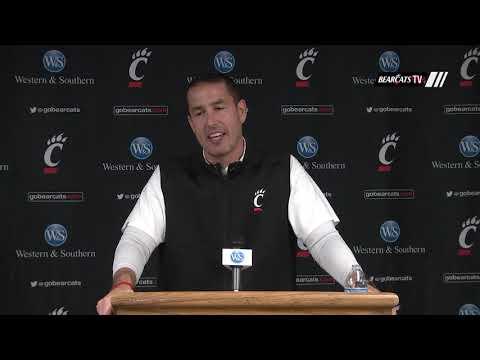 Coach Fickell Recaps the Bearcats' 56-6 Win Over ECU on Senior Day